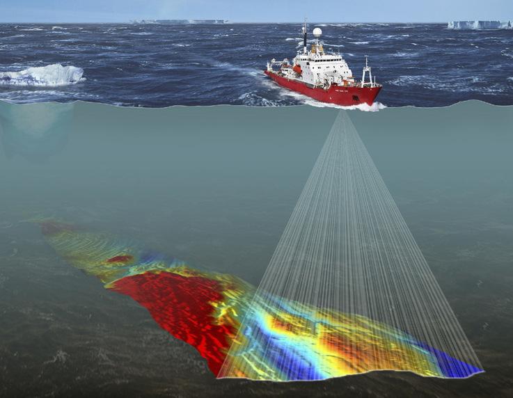 Fernerkundungsdaten, die im Laufe von Jahrzehnten kollaborativer Forschung in der Antarktis