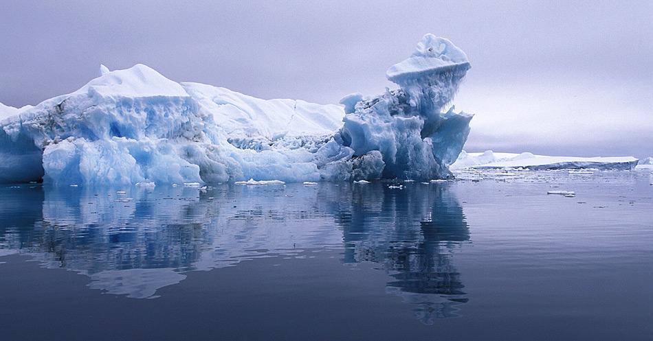 Auf der Antarktischen Halbinsel hat die Sommereis-Schmelze in den letzten Jahren massiv zugenommen.