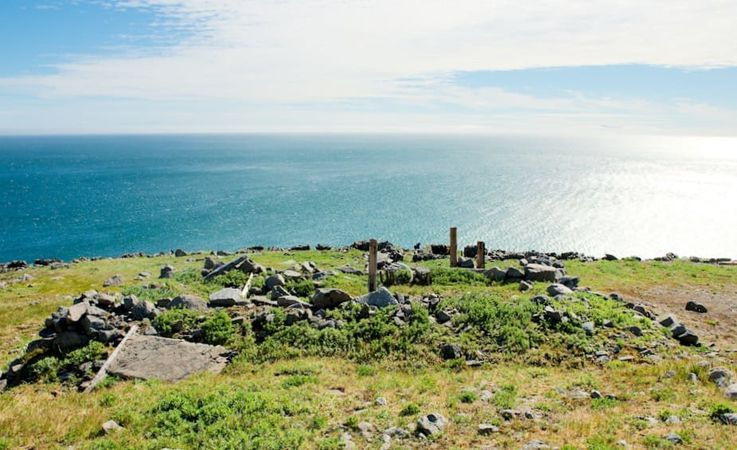 Der Blick vom äussersten östlichen Ende des eurasischen Doppelkontinents zeigt die Beringstrasse,