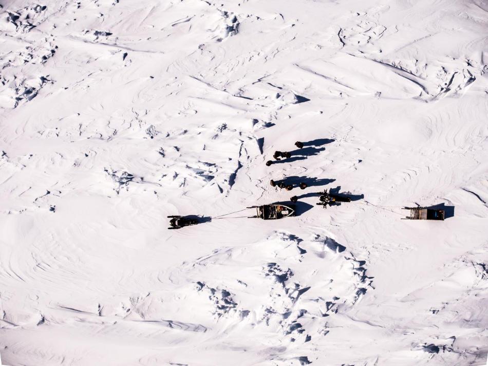 Die Sichtverhältnisse entscheiden mit darüber, ob Inuit ihre Wege finden und die Eisverhältnisse prüfen können. Photo credit: Dylan Clark -McGillUniversity, Canada