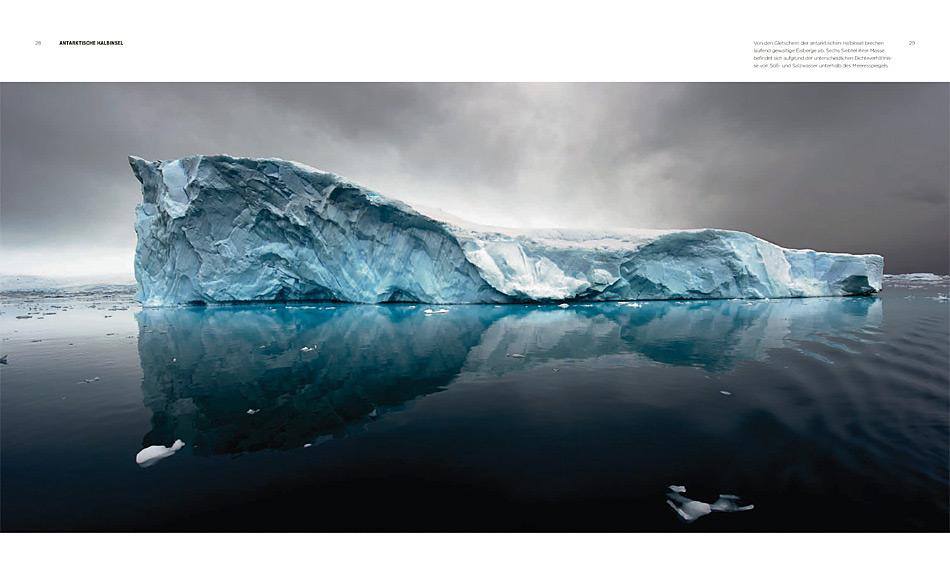 Tafeleisberg in der Antarktis.